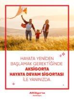"""AKSİGORTA 'HAYATA DEVAM SİGORTASI'NIN KAPSAMINI """"TEDAVİ DESTEK PAKETİ"""" İLE GENİŞLETTİ"""