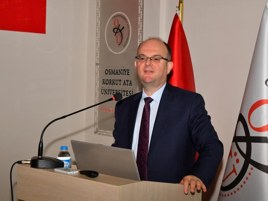 Osmaniye Korkut Ata Üniversitesinde Bilgilendirme Toplantısı Düzenlendi