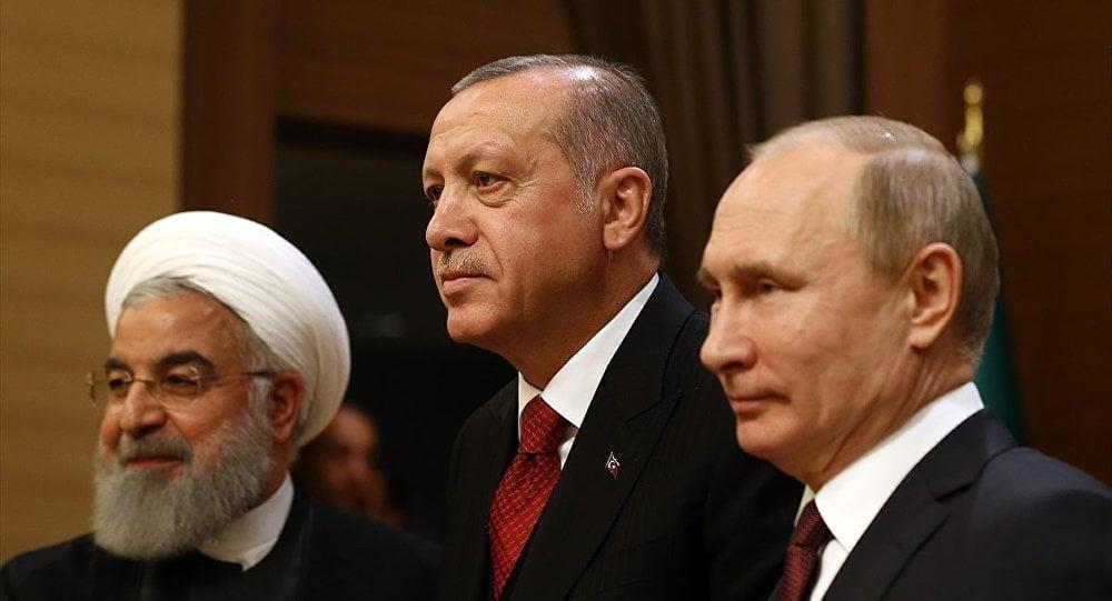 SURİYE İÇ SAVAŞI VE TÜRKİYE-RUSYA-İRAN GÖRÜŞMELERİ.