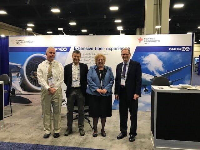 Kordsa, SAMPE 2019 fuarında havacılık endüstrisine yönelik yenilikçi teknolojilerini sergiledi.