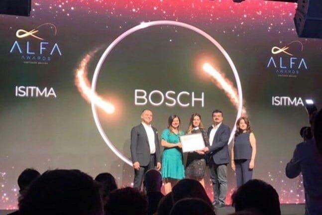 A.L.F.A.'dan Bosch Termoteknoloji'ye ödül!