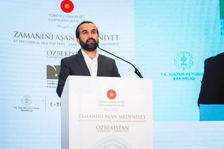 Özbekistan Sergisi ve Sempozyumu açıldı.