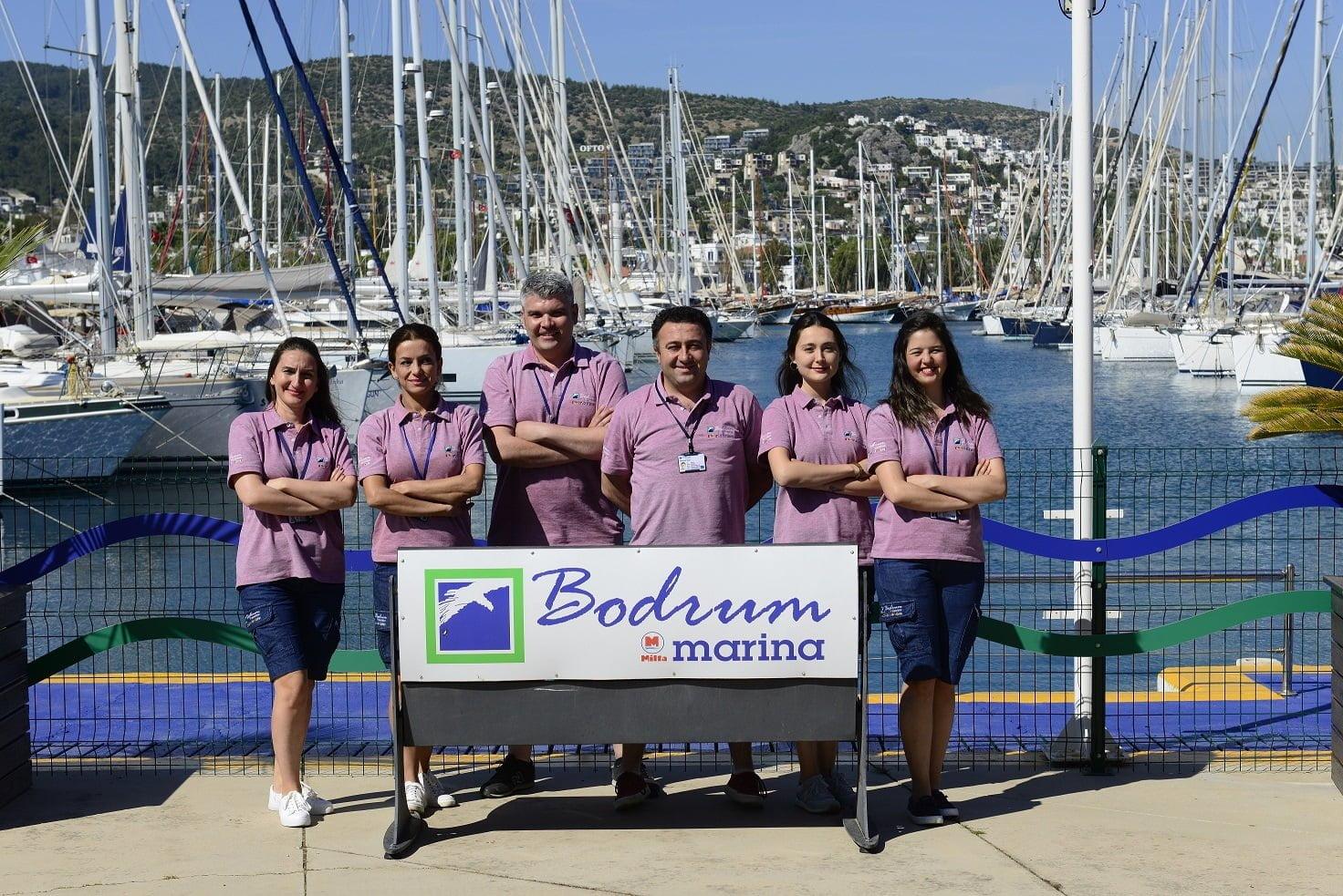 Deniz tutkunları için Milta Bodrum Marina'da hayat bir başka!