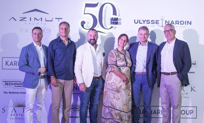 Dünyanın Lider Yat Üreticisi Azımut Benetti Group'un 50. Yılı Kutlandı.