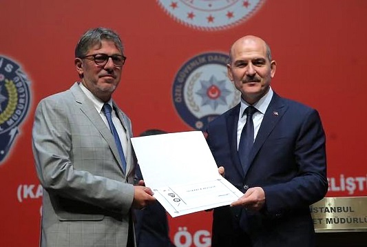 Güvenlik sektörüne katkılarından dolayı Tepe Savunma'ya anlamlı ödül.