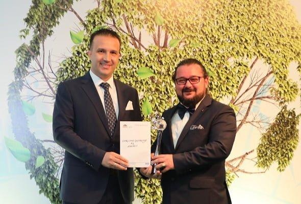 Limaş'a Çevre Ödülü!