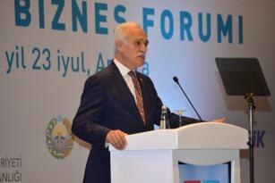 Türkiye ile Özbekistan arasındaki Ticaret Hedefi 5 Milyar Dolar.