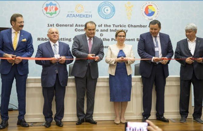 Türk Ticaret ve Sanayi Odası Açıldı.