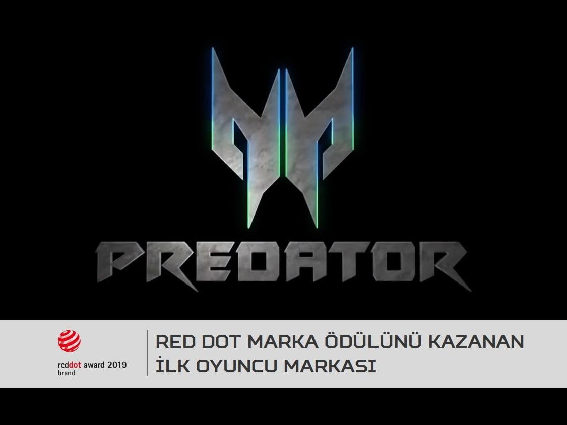 Acer Predator, Red Dot Marka Ödülünü Kazanan İlk Oyuncu Markası Oldu.