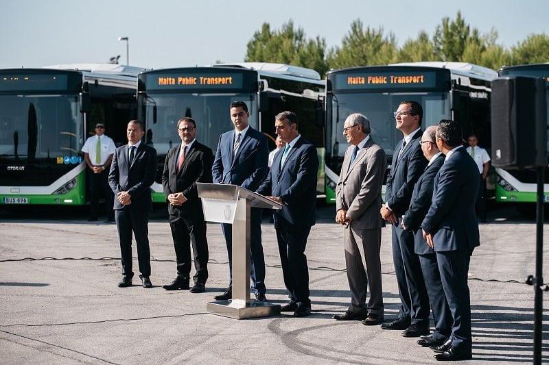 Malta'ya 40 adet KENT otobüs ihraç edildi.
