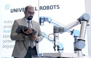 Türkiye'de robotlar en çok taşıma uygulamalarında kullanılıyor.