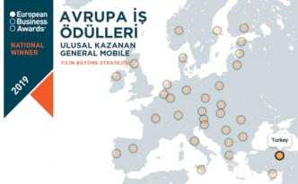 General Mobile'a Avrupa'dan Ödül.