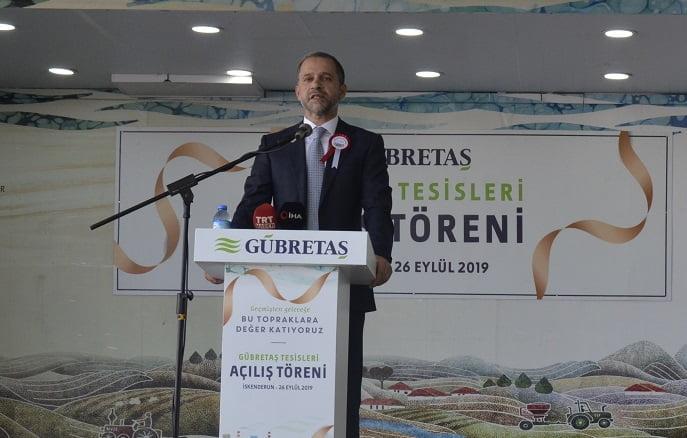 GÜBRETAŞ'ın Lojistik Kapasitesini %35 Artıran Tesisler Açıldı.