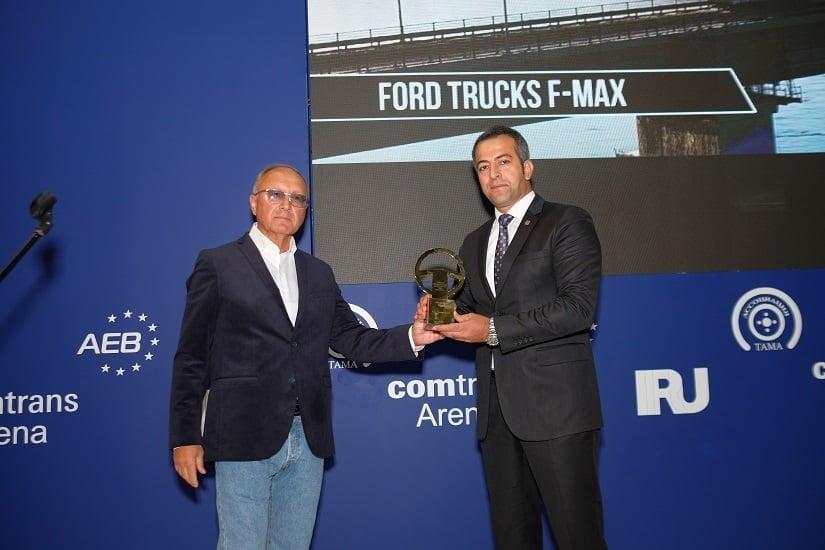 """""""Rusya'da Yılın En İyi Ticari Aracı"""" F-MAX."""