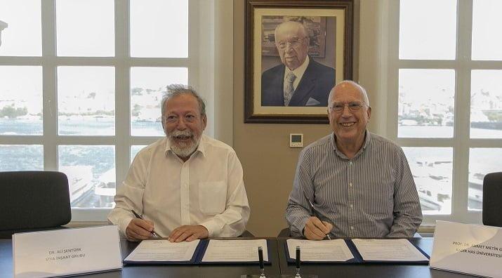 STFA İnşaat ve Kadir Has Üniversitesi Arasında İşbirliği.