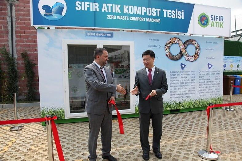 Kumport; Sıfır atık projesini hayata geçiren ilk liman oldu!