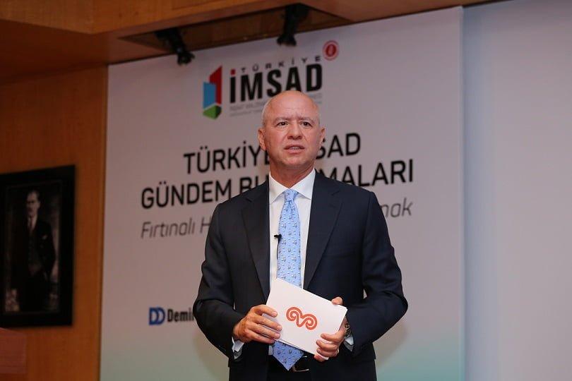 """Koç Holding CEO'su Levent Çakıroğlu; """"Fırtınaya aldırış etmeden yol almak önemlidir."""""""
