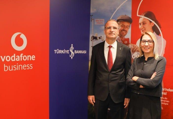 Vodafone ve İş Bankası'ndan Güç Birliği.