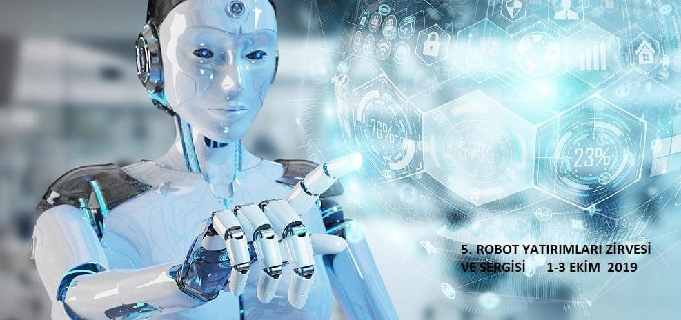 Yeni mesai arkadaşlarımız; Robot ve Hologram.