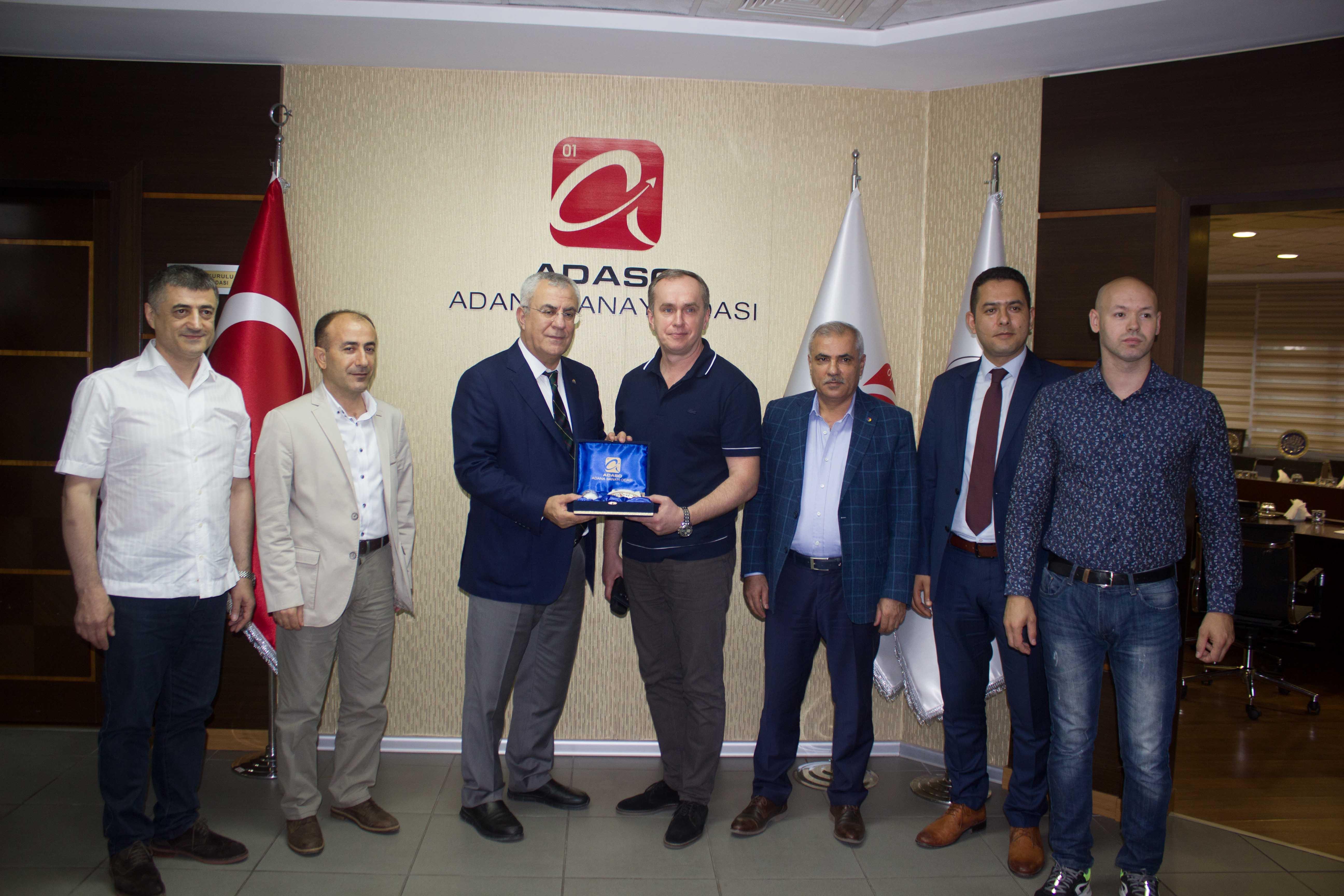 Adana Tekstiline Ruslardan büyük ilgi!