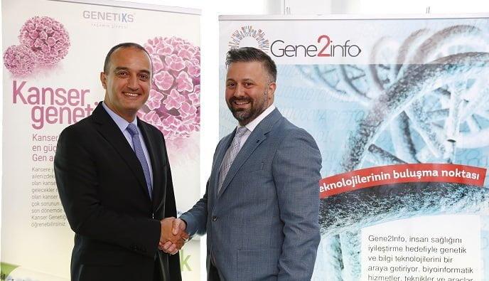 Gene2info ve Genetiks işbirliğiyle Türkiye genetik tanıda merkez oluyor.