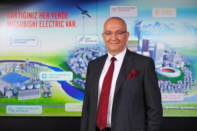 """Mitsubishi Electric """"Evden Uzaya"""" Kadar Türkiye'ye Yatırım Yapıyor."""
