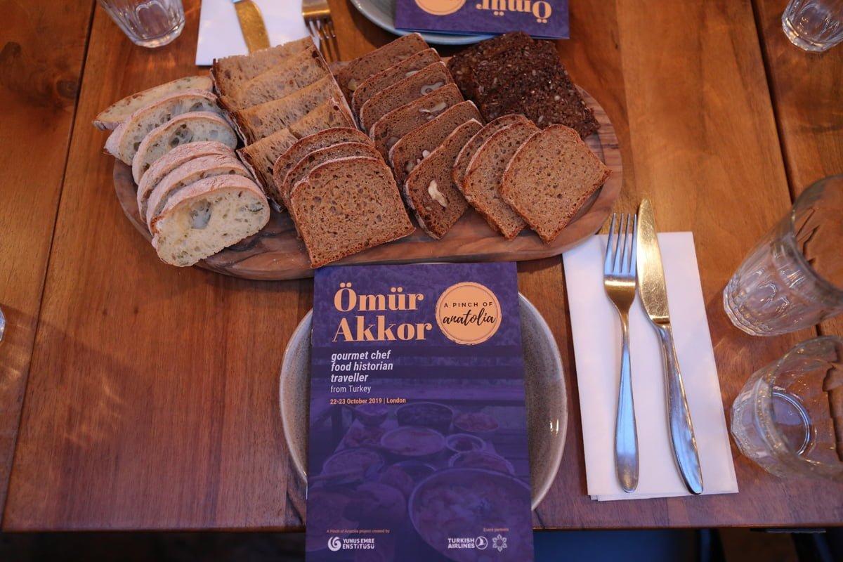 Anadolu'dan Yemek Hikâyeleri Londra'da büyük ilgi gördü