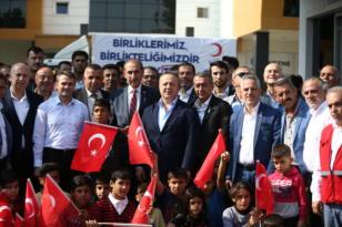 TİM, Şanlıurfa ve Kilis'te 250 aileye insani yardım malzemesi dağıttı
