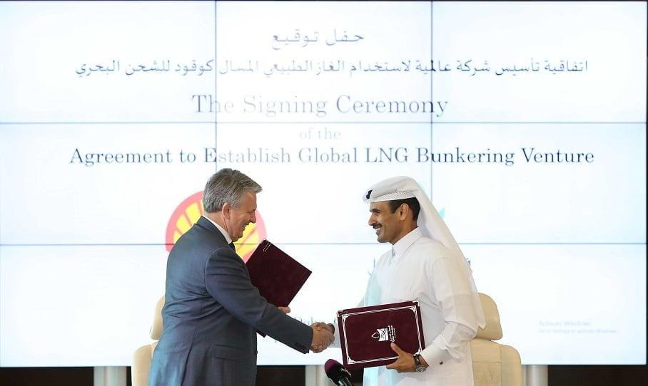 Denizlerde LNG kullanımını Artırmak için Shell ve Katar Petroleum anlaştı.