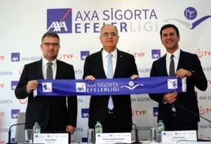 AXA Sigorta Efeler Ligi'nin Resmi İsim Sponsoru Oldu.