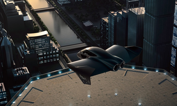 Şehir İçi Hava Ulaşımı Pazarı İçin Porsche ve Boeing Ortaklık Kuruyor.