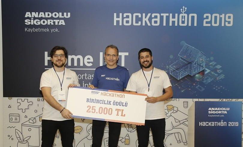 Anadolu Sigorta Hackathon'da En İnovatif Home IoT Projeleri Yarıştı.
