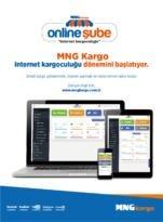 """MNG Kargo, internet kargoculuğu dönemini """"Online Şube"""" ile başlatıyor"""