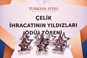 Çelik İhracatçıları Birliği üyelerine 21 ödül.