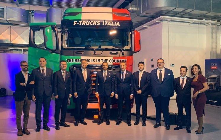 Ford Trucks, İtalya pazarına adım atıyor…