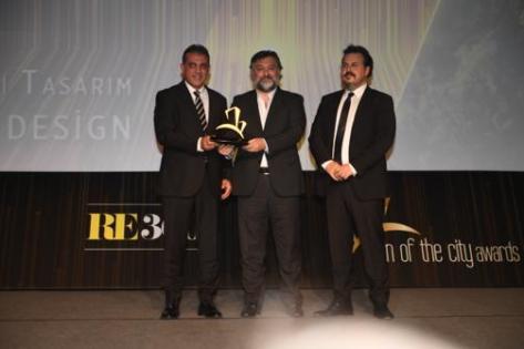 Sign Of The City Awards'da MESA En İyi Konut Ödülünü Aldı.