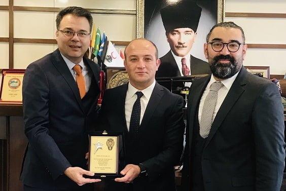Tepe Güvenlik'e İstanbul Özel Güvenlik Şube Müdürlüğü'nden Ödül!