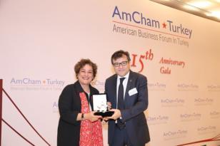 PepsiCo Türkiye'nin Manisa Yatırımı AmCham Tarafından Ödüllendirildi.