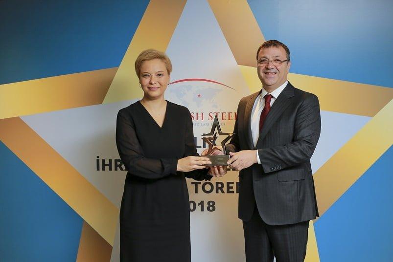 Çelik İhracatının Yıldızları Ödüllerini Aldı.