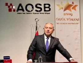 Adana'nın Yıldız Sanayicileri Ödüllendirildi.