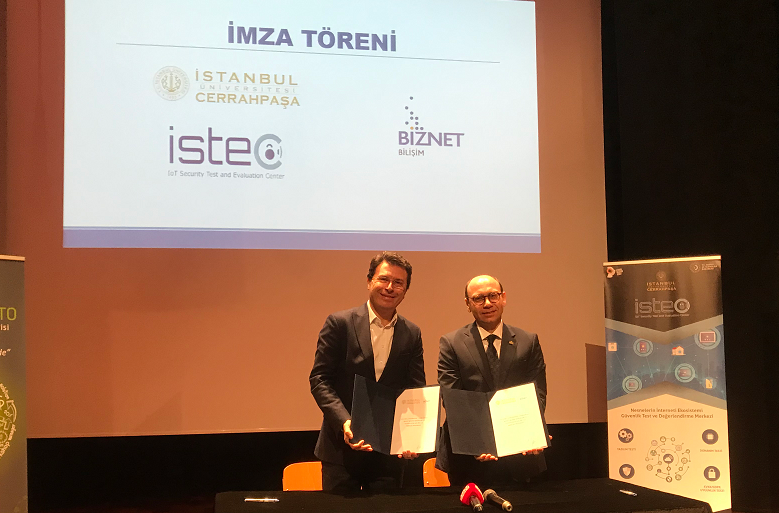 """Biznet ve İstanbul Üniversitesi-Cerrahpaşa'dan, """"IoT"""" İşbirliği."""