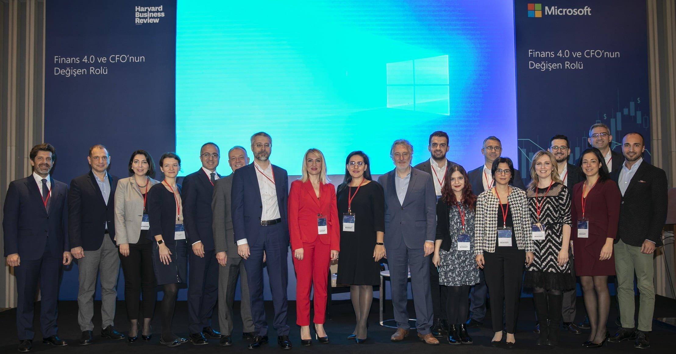 Teknoloji ve finans dünyası Microsoft CFO etkinliğinde buluştu.