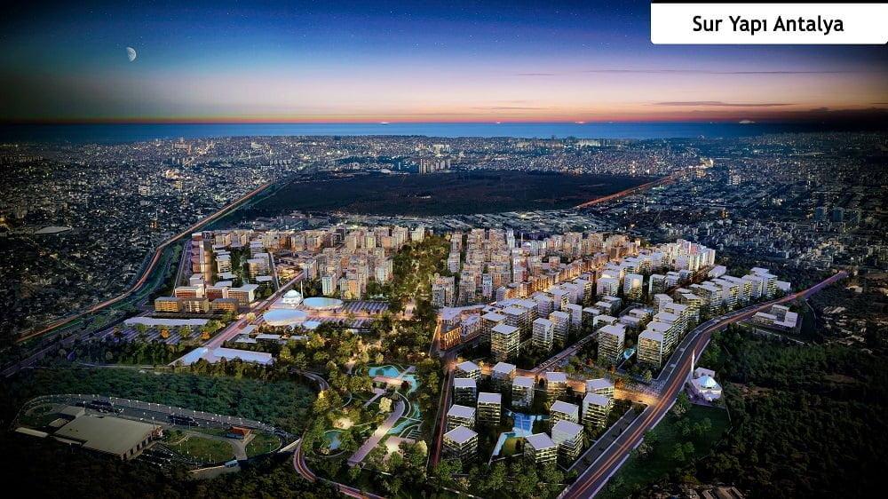"""""""Türkiye'nin En İyi Kentsel Dönüşüm Projesi"""" Ödülü Sur Yapı Antalya Projesi'ne Verildi."""