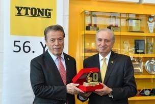 Türk Ytong 56'ncı yılını çalışanlarıyla kutladı.