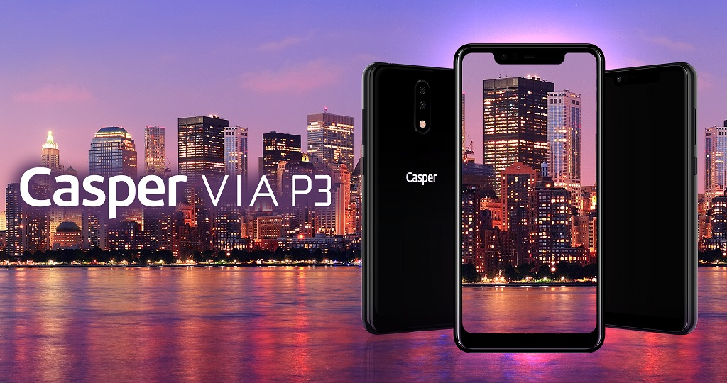 Yapay Zeka Harikası Akıllı Telefon Casper VIA P3.