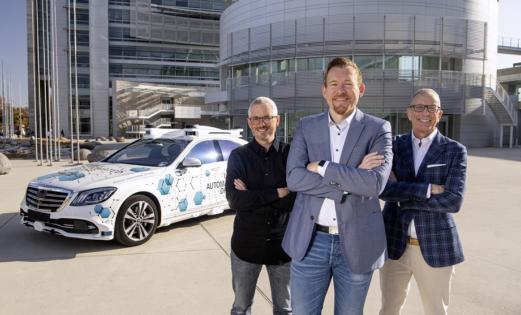 Bosch ve Mercedes-Benz, San José pilot projesini başlatıyor.