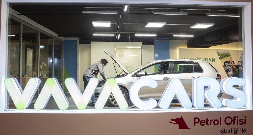VavaCars, yeni şubesini İstanbul Kanyon AVM'de hizmete açtı.