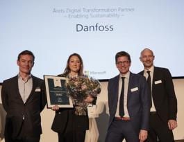Danfoss'a Microsoft'tan Ödül.