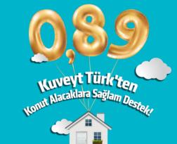 Kuveyt Türk kâr oranını konutta yüzde 0,89'a, araç finansmanında yüzde 0,96'ya düşürdü.