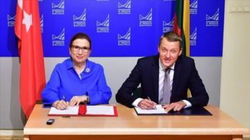 Türkiye Litvanya'nın Demiryolu ve Havalimanı Projelerine Talip.